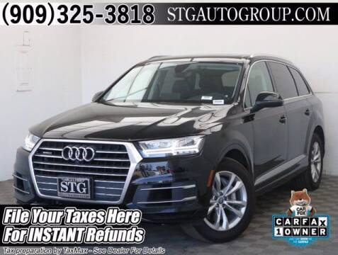 2019 Audi Q7 for sale at STG Auto Group in Montclair CA