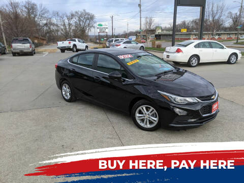 2016 Chevrolet Cruze for sale at AmericAuto in Des Moines IA