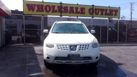 2008 Nissan Rogue for sale at LONG BROTHERS CAR COMPANY in Cleveland OH