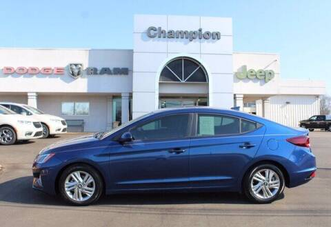2019 Hyundai Elantra for sale at Champion Chevrolet in Athens AL