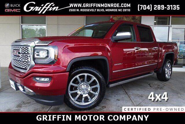 2018 GMC Sierra 1500 for sale at Griffin Buick GMC in Monroe NC