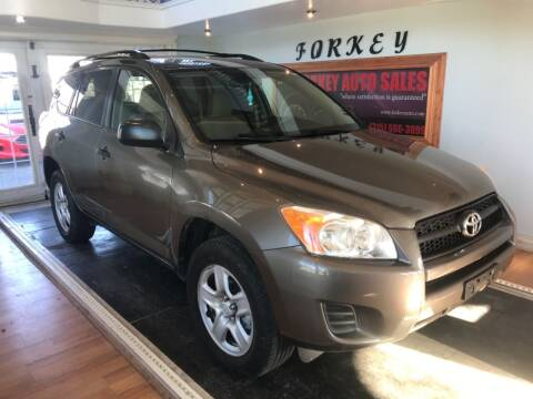 2012 Toyota RAV4 for sale at Forkey Auto & Trailer Sales in La Fargeville NY