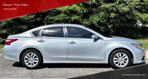 2016 Nissan Altima for sale at Square 1 Auto Sales - Commerce in Commerce GA