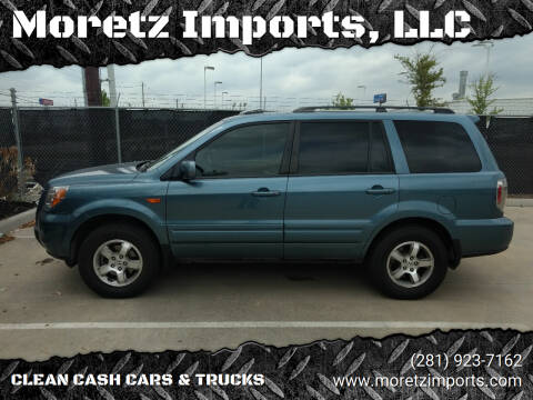 2007 Honda Pilot for sale at Moretz Imports, LLC in Spring TX