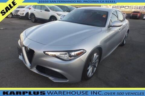 2017 Alfa Romeo Giulia for sale at Karplus Warehouse in Pacoima CA