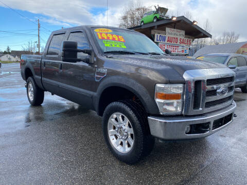 2008 Ford F-350 Super Duty for sale at Low Auto Sales in Sedro Woolley WA