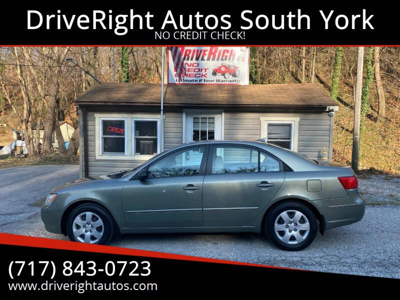 2009 Hyundai Sonata for sale at DriveRight Autos South York in York PA