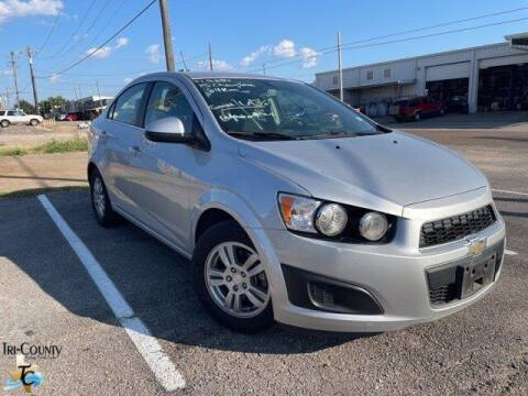 2015 Chevrolet Sonic for sale at TRI-COUNTY FORD in Mabank TX