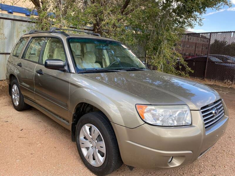 2008 Subaru Forester for sale at Street Smart Auto Brokers in Colorado Springs CO