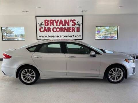 2019 Ford Fusion Hybrid for sale at Bryans Car Corner in Chickasha OK