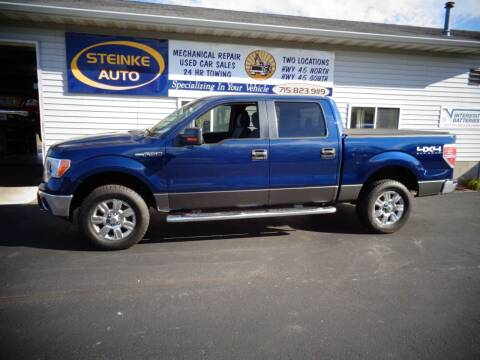 2012 Ford F-150 for sale at STEINKE AUTO INC. - Steinke Auto Inc (South) in Clintonville WI