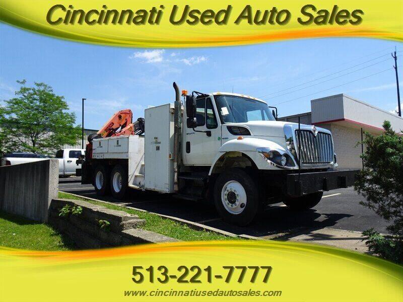 2009 International WorkStar 7400 for sale at Cincinnati Used Auto Sales in Cincinnati OH