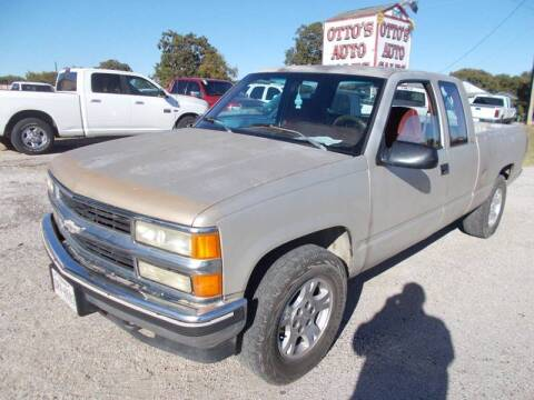 1992 Chevrolet C/K 1500 Series for sale at OTTO'S AUTO SALES in Gainesville TX
