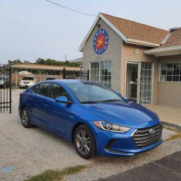 2018 Hyundai Elantra for sale at Spark Motors in Kansas City MO