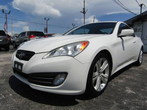 2010 Hyundai Genesis Coupe for sale at AJA AUTO SALES INC in South Houston TX