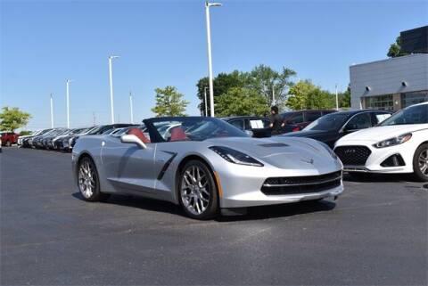 2016 Chevrolet Corvette for sale at BOB ROHRMAN FORT WAYNE TOYOTA in Fort Wayne IN