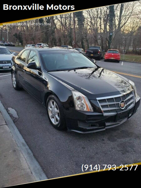 2009 Cadillac CTS for sale at bronxville motors in Bronxville NY