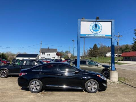 2014 Hyundai Sonata Hybrid for sale at Corry Pre Owned Auto Sales in Corry PA
