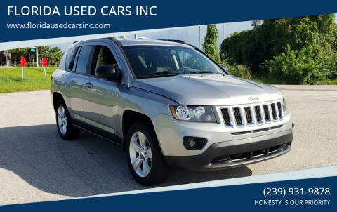2017 Jeep Compass for sale at FLORIDA USED CARS INC in Fort Myers FL