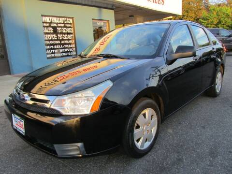 2010 Ford Focus for sale at Trimax Auto Group in Norfolk VA