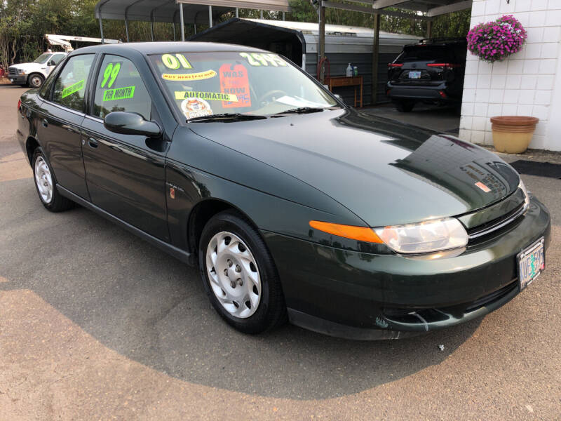 2001 Saturn L-Series for sale at Freeborn Motors in Lafayette OR