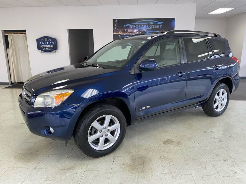 2007 Toyota RAV4 for sale at Used Car Outlet in Bloomington IL