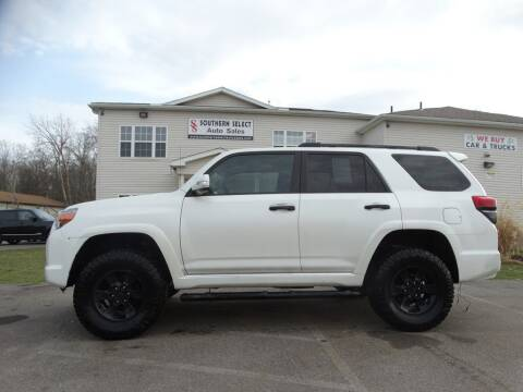 2011 Toyota 4Runner for sale at SOUTHERN SELECT AUTO SALES in Medina OH