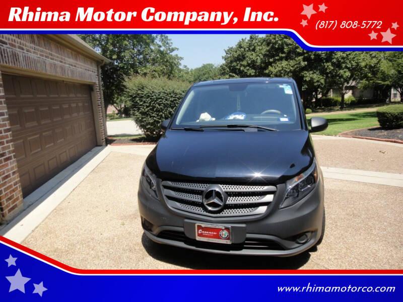 2019 Mercedes-Benz Metris for sale at Rhima Motor Company, Inc. in Haltom City TX
