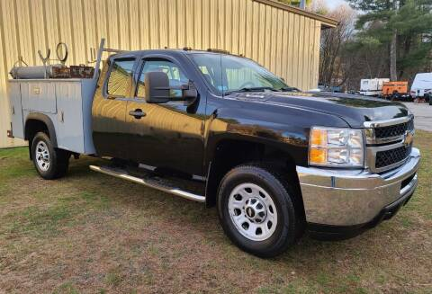 2012 Chevrolet Silverado 3500HD for sale at MILFORD AUTO SALES INC in Hopedale MA