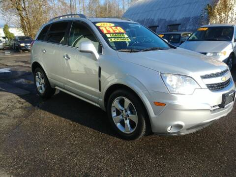 2013 Chevrolet Captiva Sport for sale at Low Auto Sales in Sedro Woolley WA