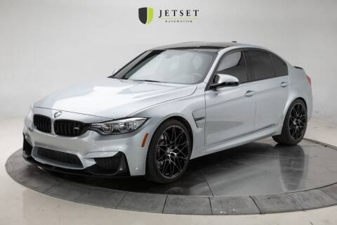2017 BMW M3 for sale at Jetset Automotive in Cedar Rapids IA