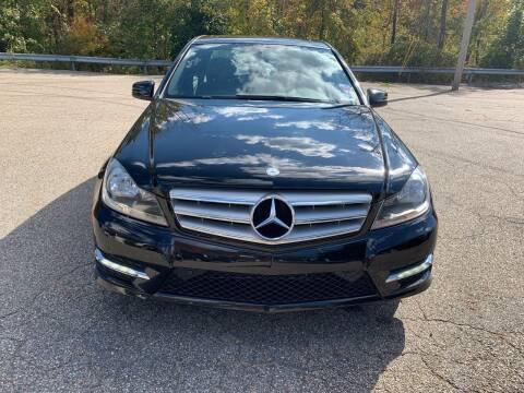2013 Mercedes-Benz C-Class for sale at George Strus Motors Inc. in Newfoundland NJ