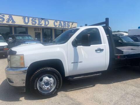 2011 Chevrolet Silverado 3500HD for sale at BSA Used Cars in Pasadena TX