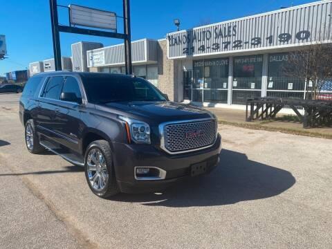 2016 GMC Yukon XL for sale at LLANOS AUTO SALES LLC in Dallas TX