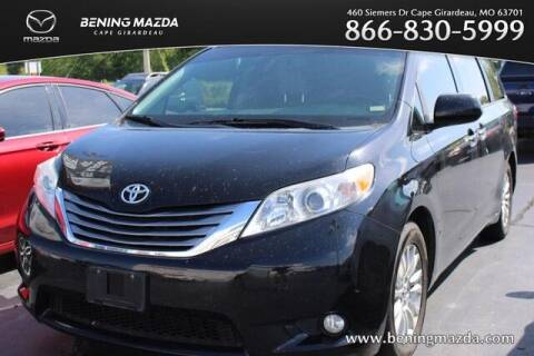 2016 Toyota Sienna for sale at Bening Mazda in Cape Girardeau MO