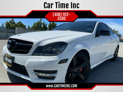 2014 Mercedes-Benz C-Class for sale at Car Time Inc in San Jose CA