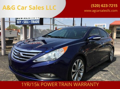 2014 Hyundai Sonata for sale at A&G Car Sales  LLC in Tucson AZ