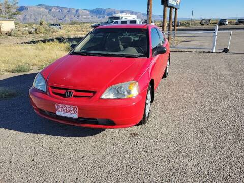 2002 Honda Civic for sale at Bickham Used Cars in Alamogordo NM