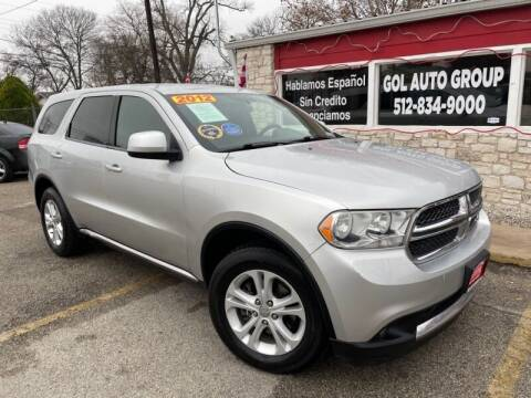 2012 Dodge Durango for sale at GOL Auto Group in Austin TX