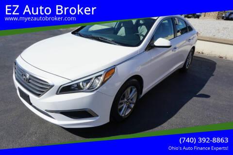 2017 Hyundai Sonata for sale at EZ Auto Broker in Mount Vernon OH