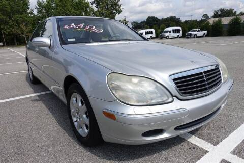 2002 Mercedes-Benz S-Class for sale at Womack Auto Sales in Statesboro GA