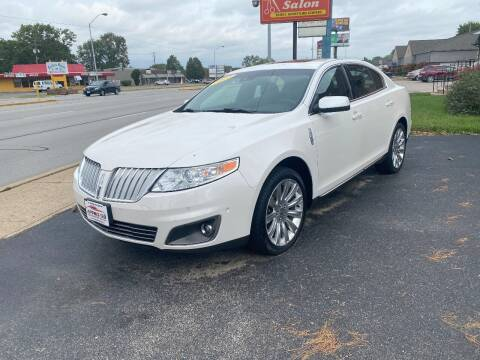 2012 Lincoln MKS for sale at Approved Automotive Group in Terre Haute IN