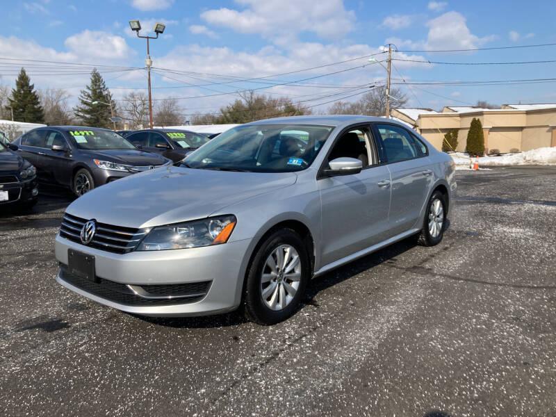 2013 Volkswagen Passat for sale at Majestic Automotive Group in Cinnaminson NJ