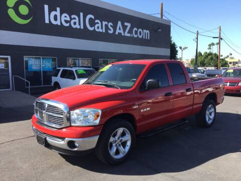 2008 Dodge Ram Pickup 1500 for sale at Ideal Cars Broadway in Mesa AZ