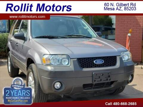 2007 Ford Escape for sale at Rollit Motors in Mesa AZ