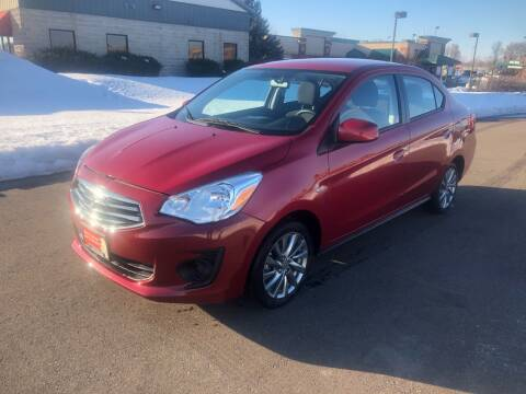 2019 Mitsubishi Mirage G4 for sale at ONG Auto in Farmington MN