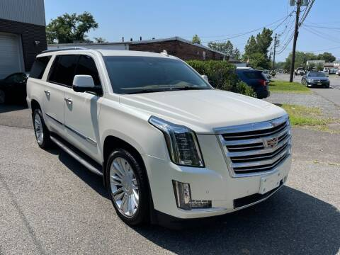 2015 Cadillac Escalade ESV for sale at International Motor Group LLC in Hasbrouck Heights NJ
