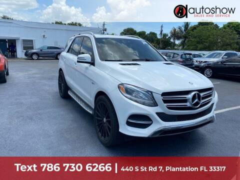 2016 Mercedes-Benz GLE for sale at AUTOSHOW SALES & SERVICE in Plantation FL