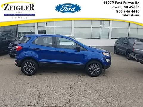 2021 Ford EcoSport for sale at Zeigler Ford of Plainwell- Jeff Bishop in Plainwell MI