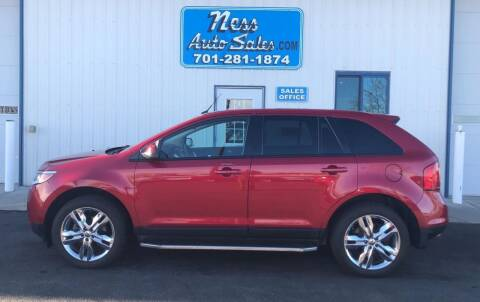 2012 Ford Edge for sale at NESS AUTO SALES in West Fargo ND